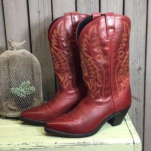 Ladies Laredo Leather Boots